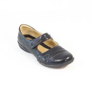 Clarks Leather Mary Jane Shoes sz 11 Women Flat